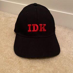 IDK hat